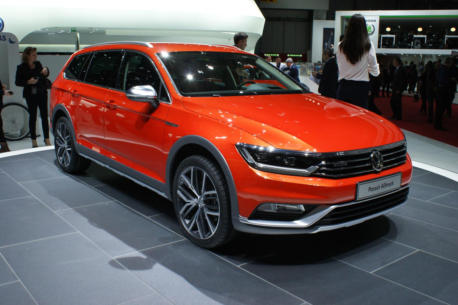volkswagen passat alltrack salone di ginevra 2015 foto 3 di 5. Black Bedroom Furniture Sets. Home Design Ideas