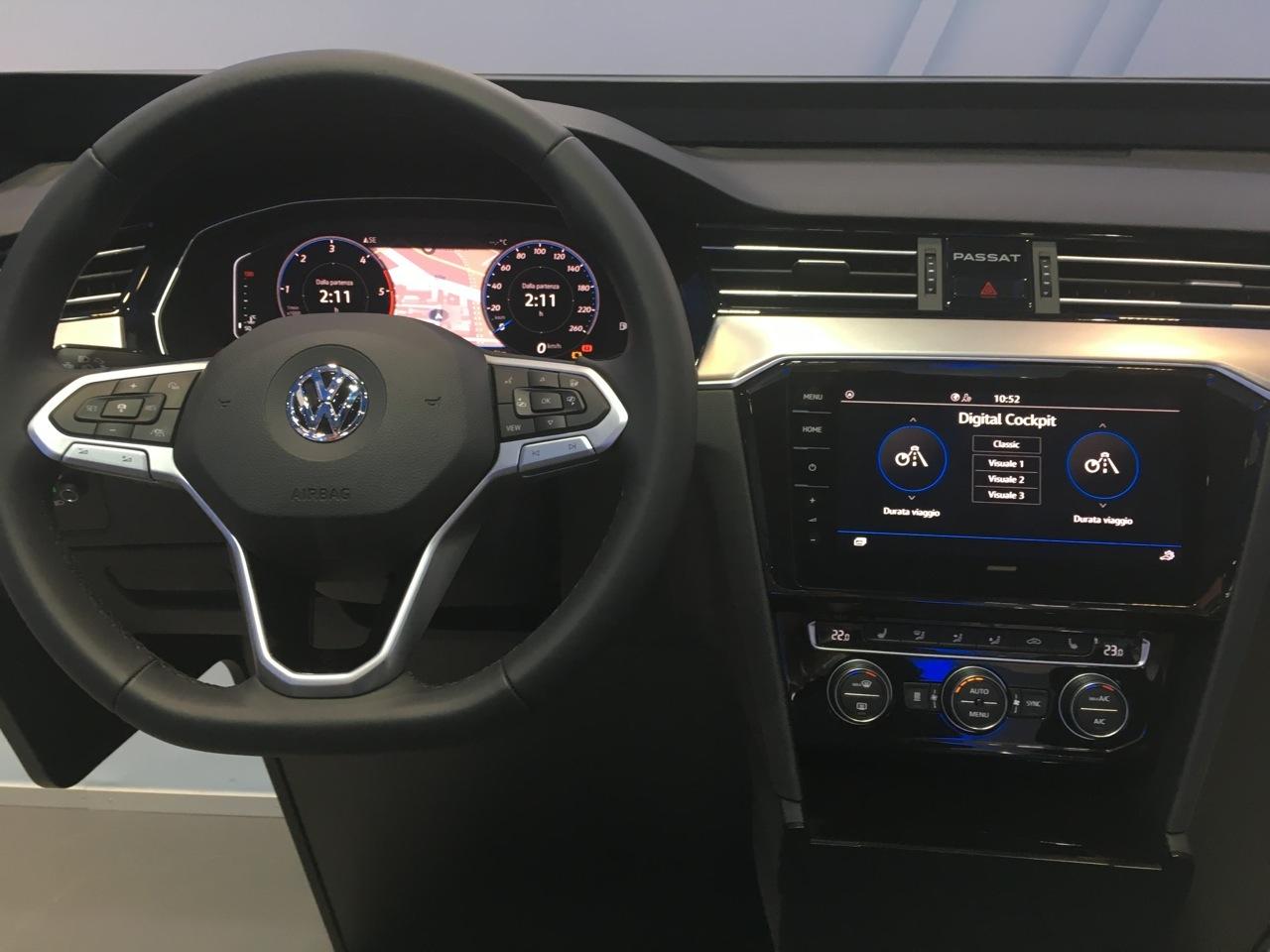 Volkswagen Passat - Workshop Amburgo 2019