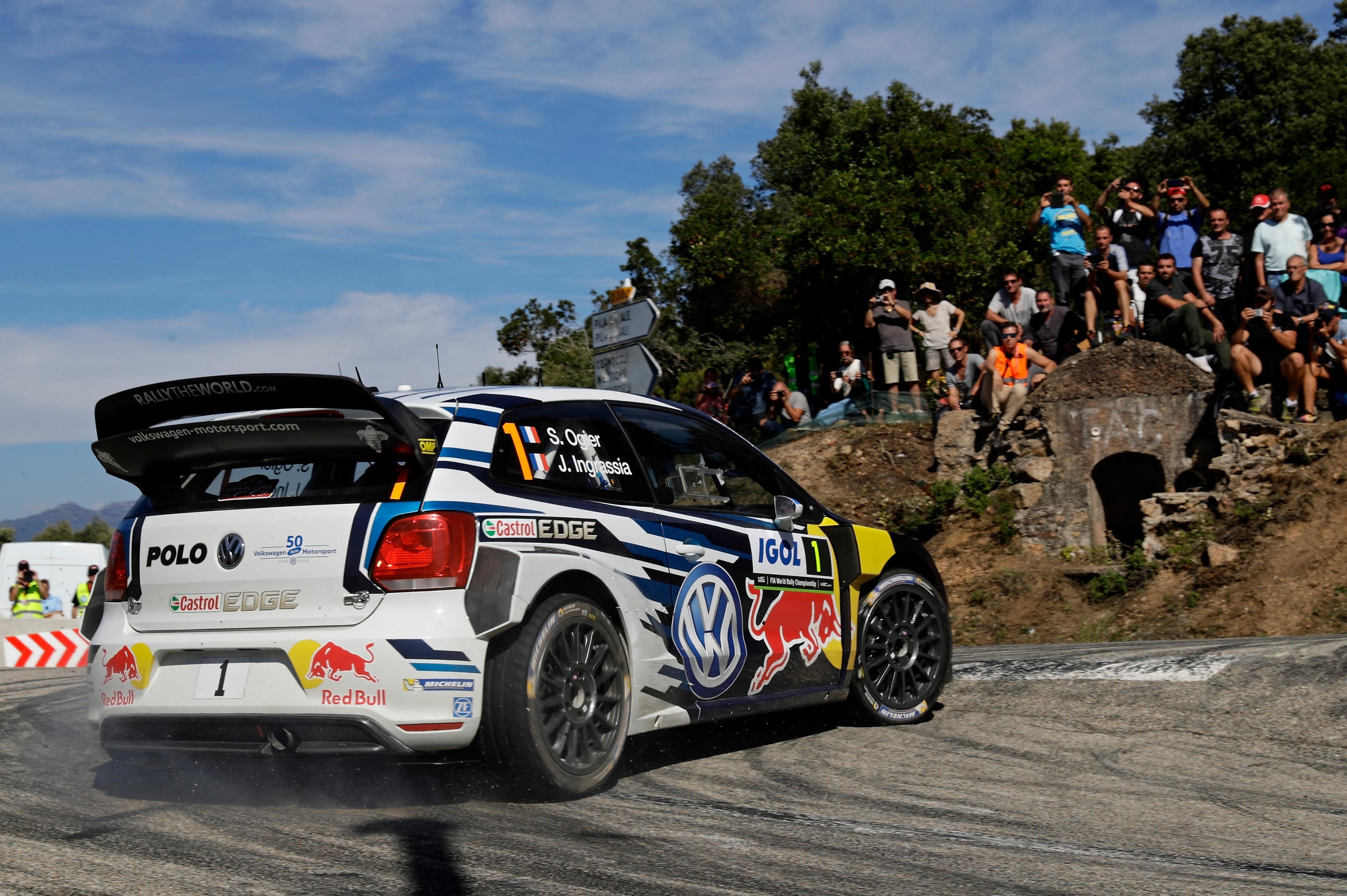 Volkswagen Polo R WRC (Volkswagen Motorsport) - Tour de Corse 2016