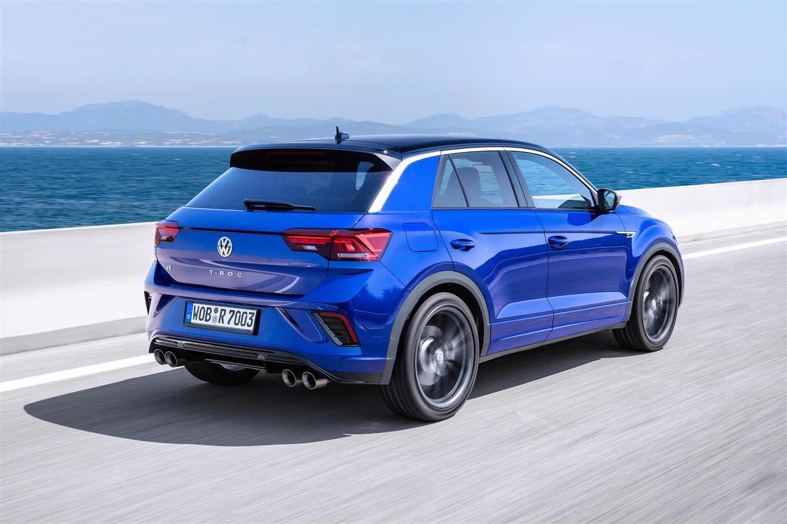 Volkswagen T-Roc R - Foto ufficiali