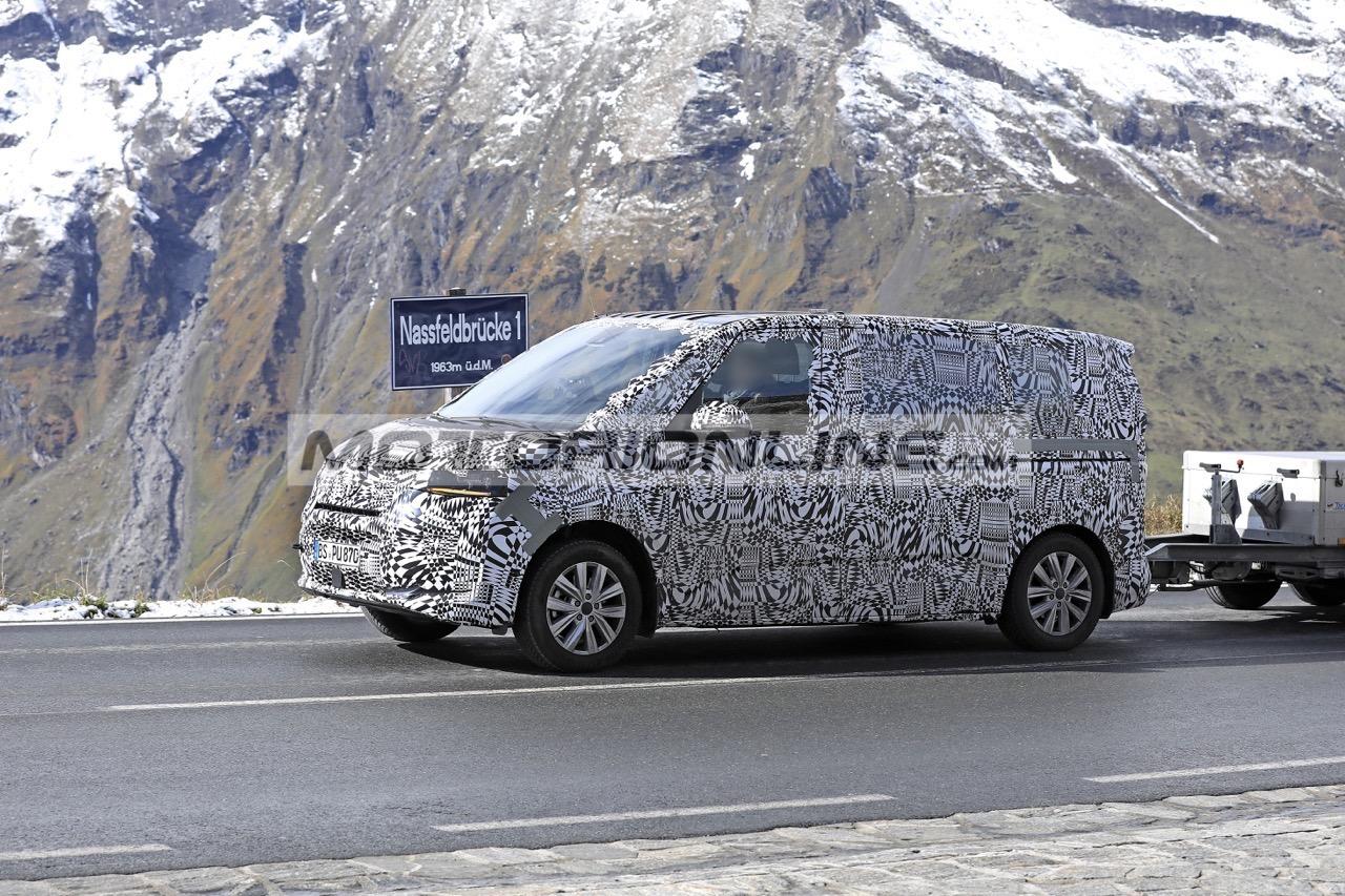 Volkswagen T7 - Foto spia 10-10-2019