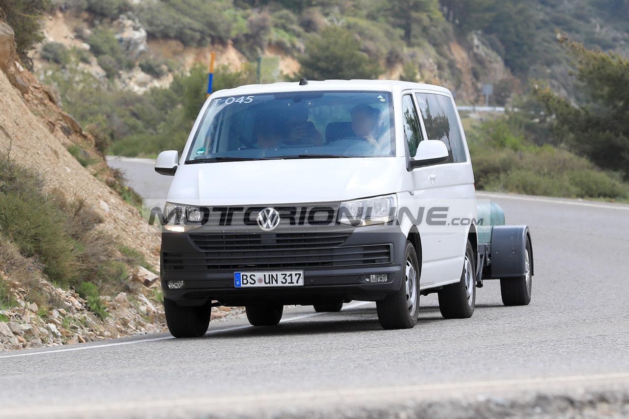 Volkswagen T7 - Foto spia 13-6-2018