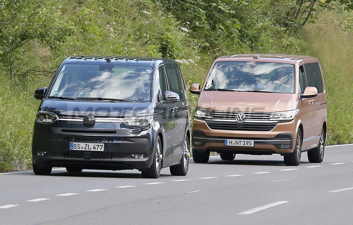 Volkswagen T7 - Foto spia 31-07-2020