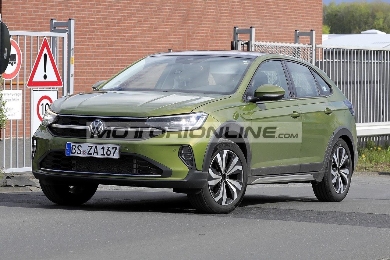 Volkswagen Taigo - Foto spia 19-5-2021