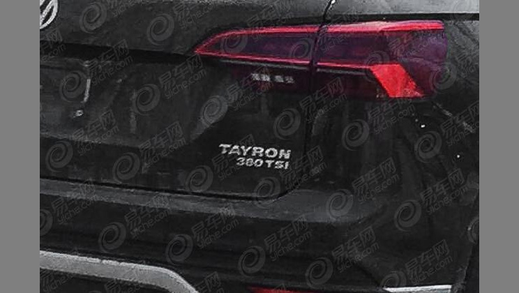 Volkswagen Tayron MY 2019 - Foto leaked