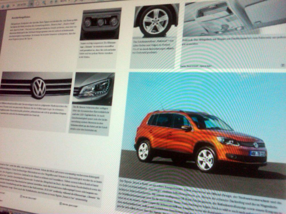 Volkswagen Tiguan 2011 restyling?