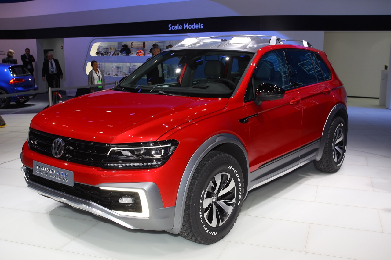volkswagen tiguan gte active concept salone di detroit 2016 7 10. Black Bedroom Furniture Sets. Home Design Ideas