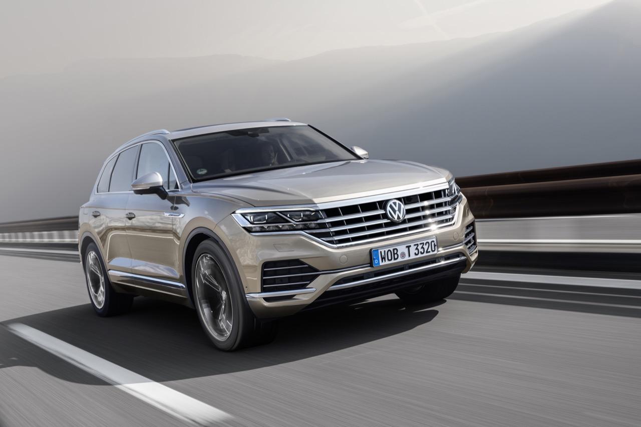 Volkswagen Touareg 2018 - test drive