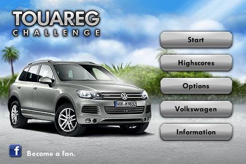 Volkswagen Touareg Challenge per iPhone
