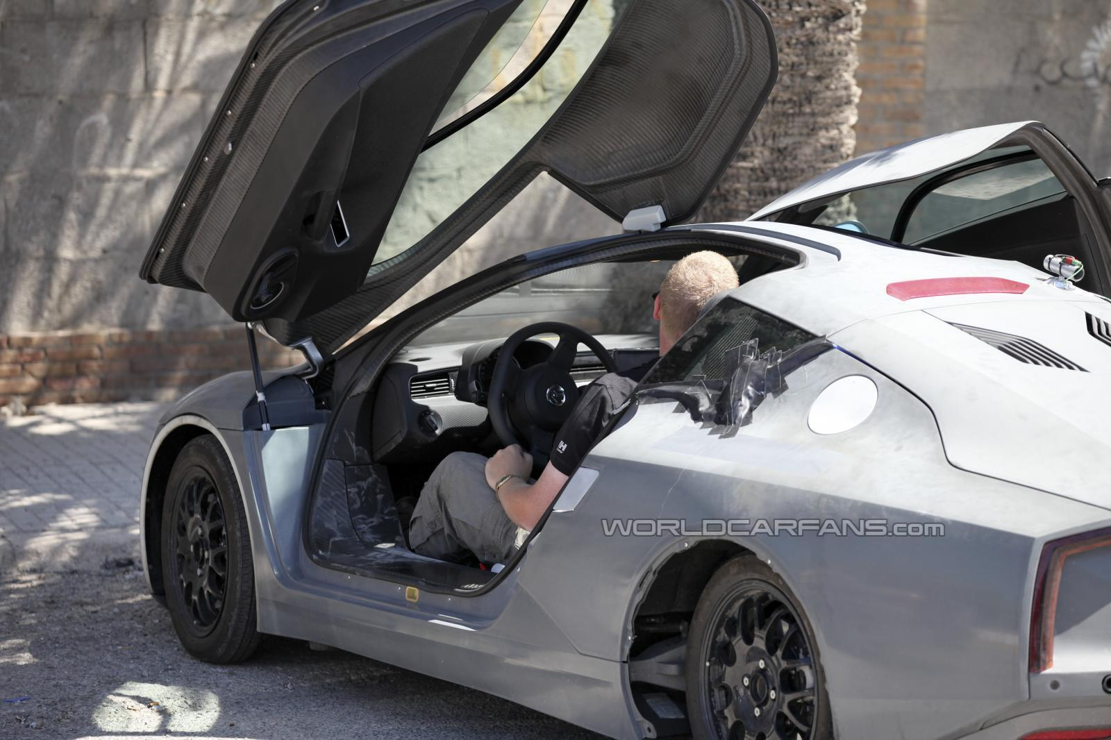 Volkswagen XL1 - Foto spia 10-09-2012