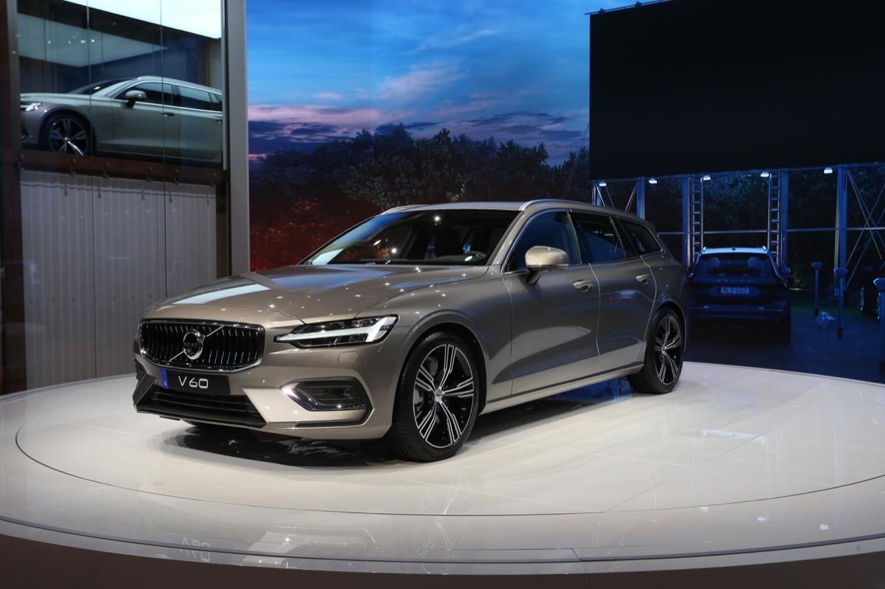 Volvo V60 - Salone di Ginevra 2018