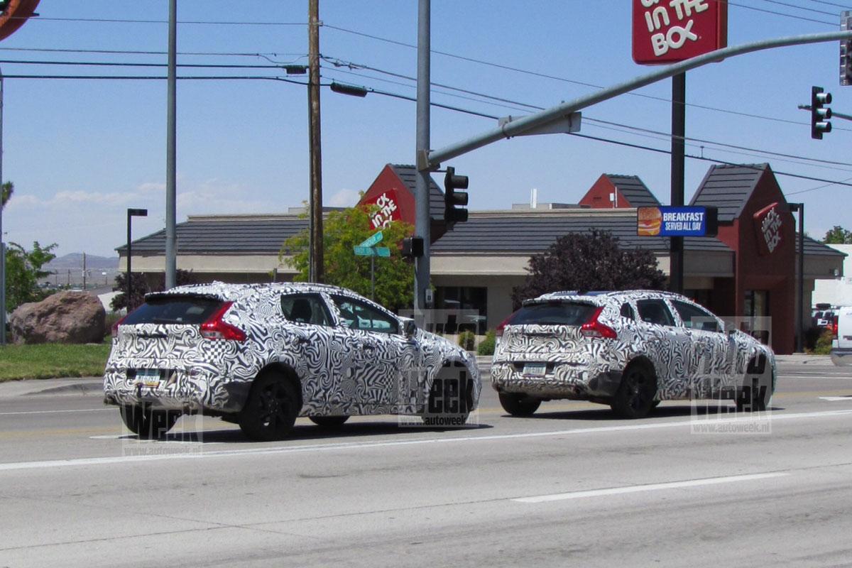 Volvo XC40 foto spia maggio 2012