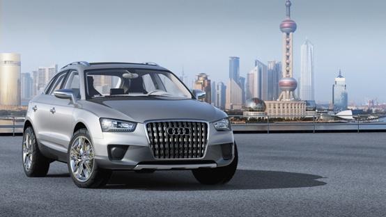 Audi Q3 arriverà nel 2011 il nuovo SUV