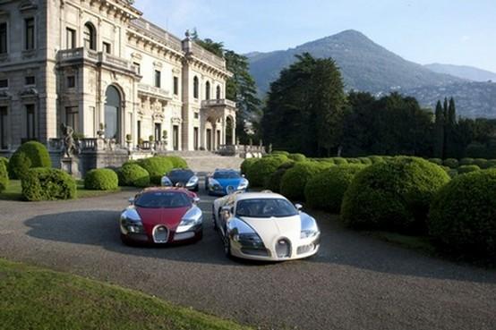 La Bugatti Centenaire mostrata al Concorso d'Eleganza di Villa d'Este