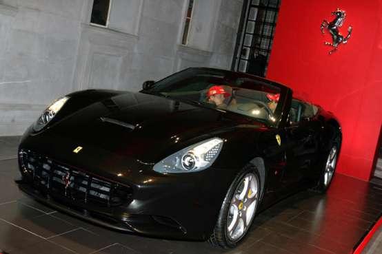 Ferrari California presentata ufficialmente al Salone di Shanghai 2009