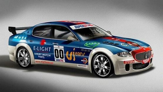 La Maserati Quattroporte da competizione parteciperà alla Serie Superstar
