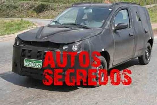 Prime foto spia della nuova Fiat Uno