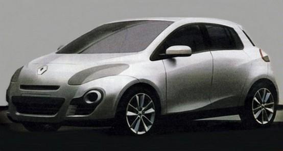 Renault Clio 2012: un primo schizzo