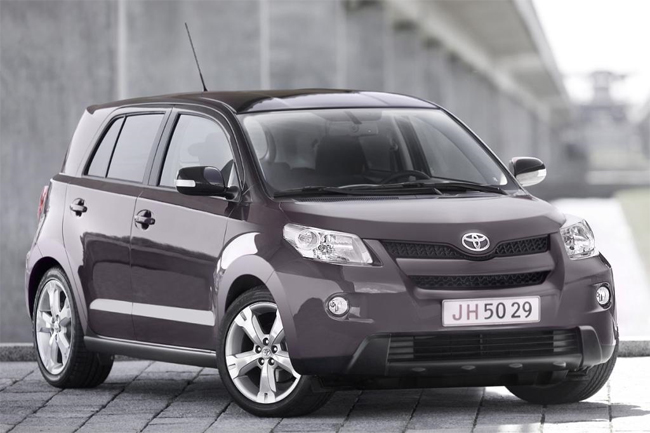 Toyota Urban Cruiser in dettaglio