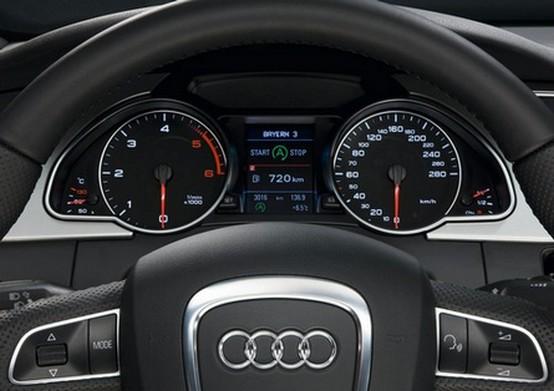 Audi introduce sistemi start-stop e di recupero energetico per il 2009