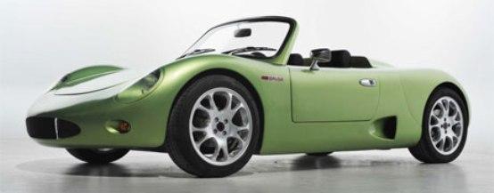 Brusa Spyder: la sportività della roadster elettrica a 200 km/h
