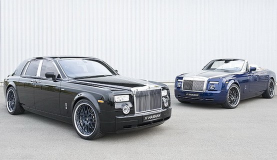 """Tuning """"aristocratici"""": Hamman Rolls-Royce Phantom e Coupé scoperta"""