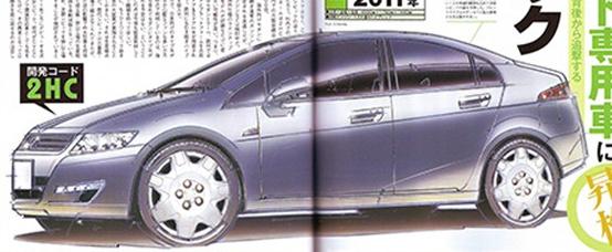 Honda Civic 2012: prime indiscrezioni su linea e motore