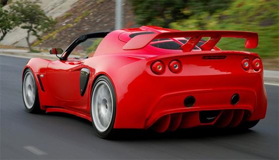 Lotus Exige S: agilità e potenza