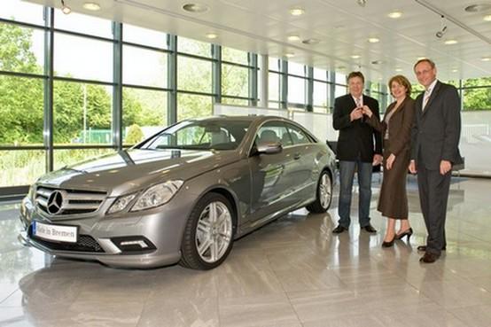 Consegnata la prima Mercedes-Benz Coupé