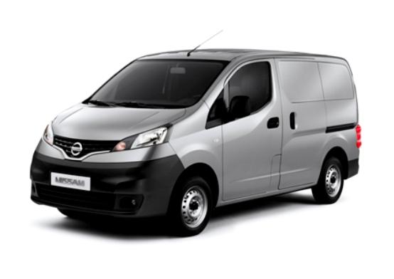 Nissan al Motor Show di Barcellona con il nuovo Van NV200