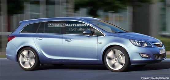 Nuova Opel Astra Station Wagon: prime anticipazioni