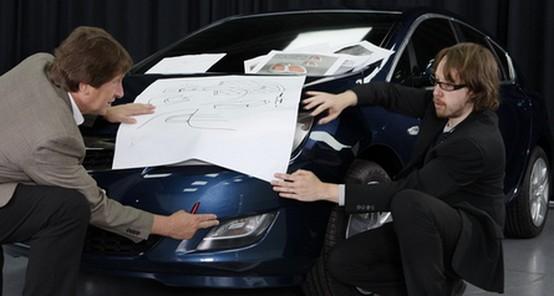 Opel Astra 2010: nuove foto realizzate