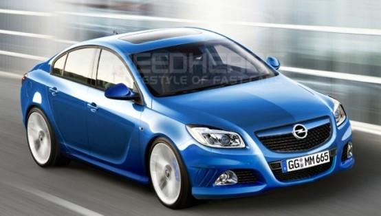 Opel Insignia OPC sarà la probabile base della futura coupé