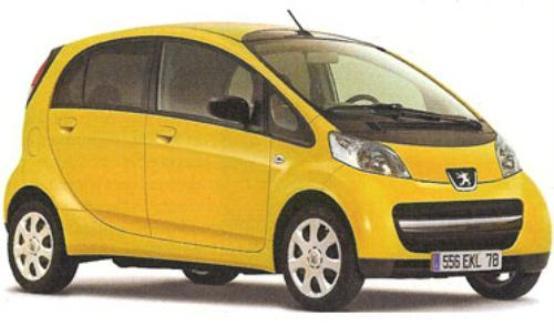 Peugeot e Mitsubishi alleate per la city car elettrica del 2010