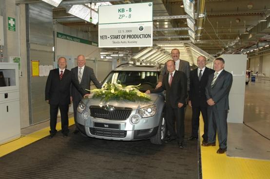 E' partita la produzione di Skoda Yeti, il nuovo SUV compatto