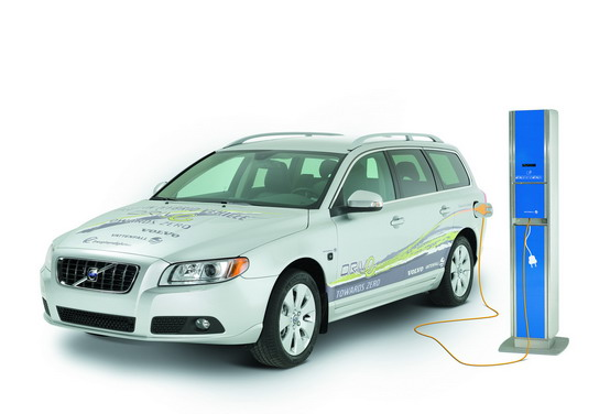 In arrivo le nuove auto ibride diesel V70 da Volvo