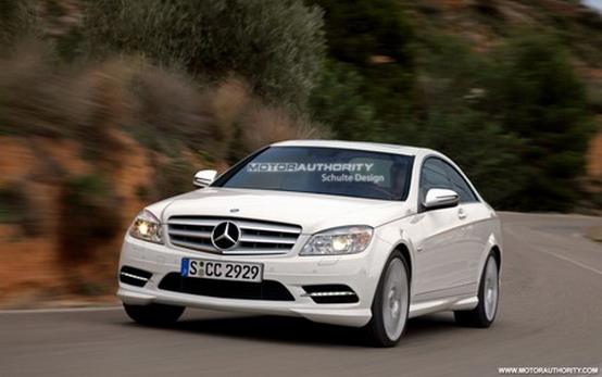 Mercedes vuole sostituire la CLC con la nuova Classe C Coupé