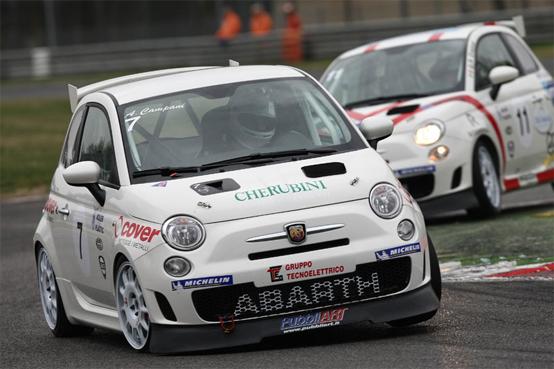 Trofeo Abarth 500 oggi a Magione