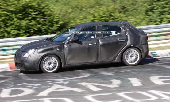 Avvistata sul Nürburgring la nuova Alfa Romeo Milano