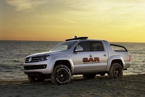 """Si chiamerà """"Amarok"""" il nuovo pick-up di Volkswagen"""
