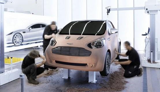 Rivelata la Aston Martin Cygnet Concept