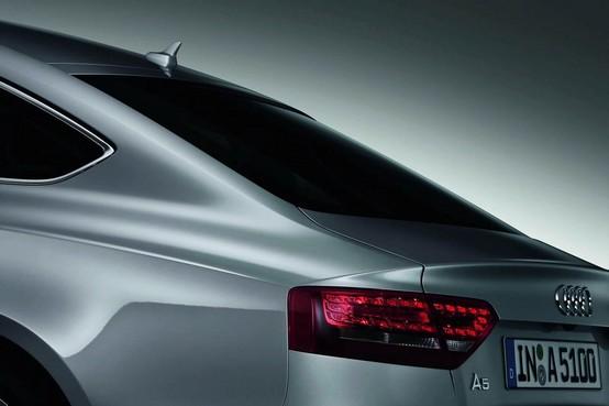Teaser e alcuni dettagli rilasciati della Audi A5 Sportback