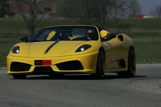 Novitec Rosso reinterpreta la Ferrari Scuderia Spider 16M