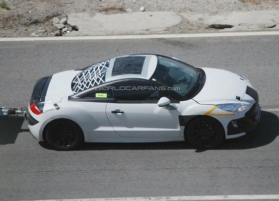 Una nuova foto della Peugeot 308 RC-Z rivela un alettone ritraibile