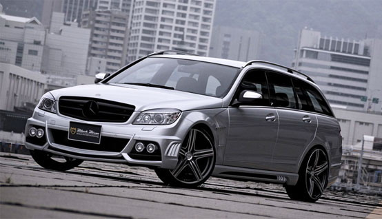 Un Bisonte Nero per la Mercedes Classe C station wagon