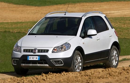 Fiat Sedici: auto ufficiale del ritiro Juventus