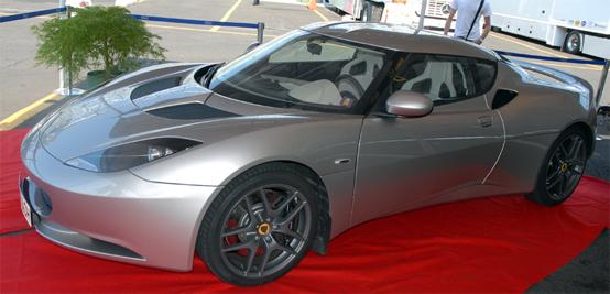 Lotus Evora in anteprima in Italia grazie a PB Racing