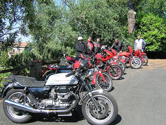 Motopasseggiata d'Estate col Moto Guzzi Roma