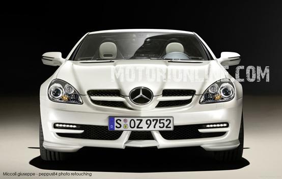 Foto spia Mercedes SLK