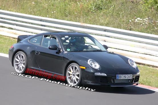 Nuove foto spia della Porsche 911